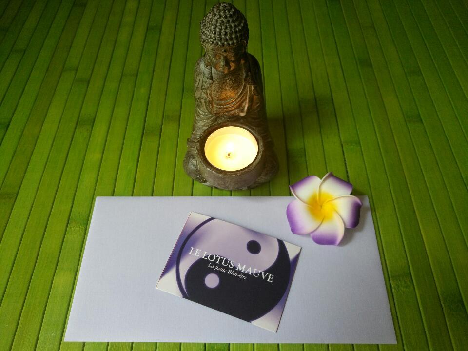 Bouddha carte visite